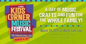 WXPN Kids Corner Music Festival