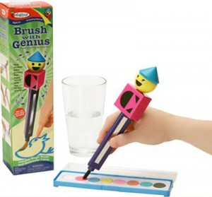 Kid's Toy Review: Colorforms Brush With Genius