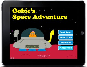 iPhone App for Kids Review: Oobie's Space Adventure