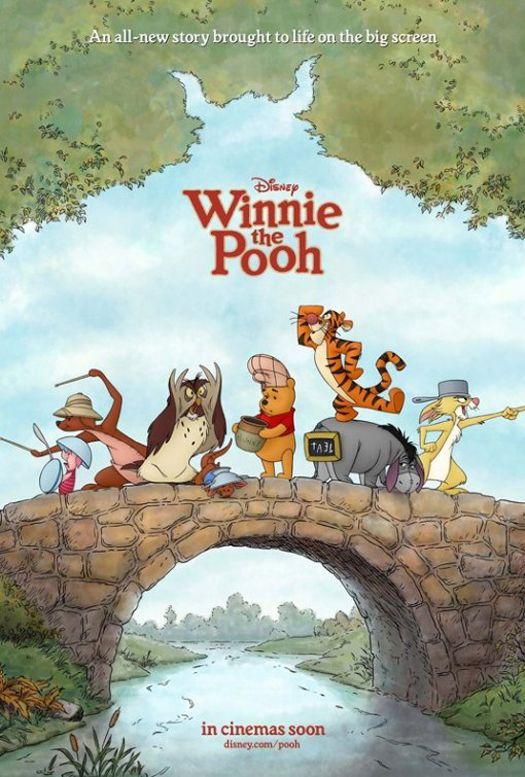 A Classic Reborn: Winnie the Pooh 2011 Movie Review