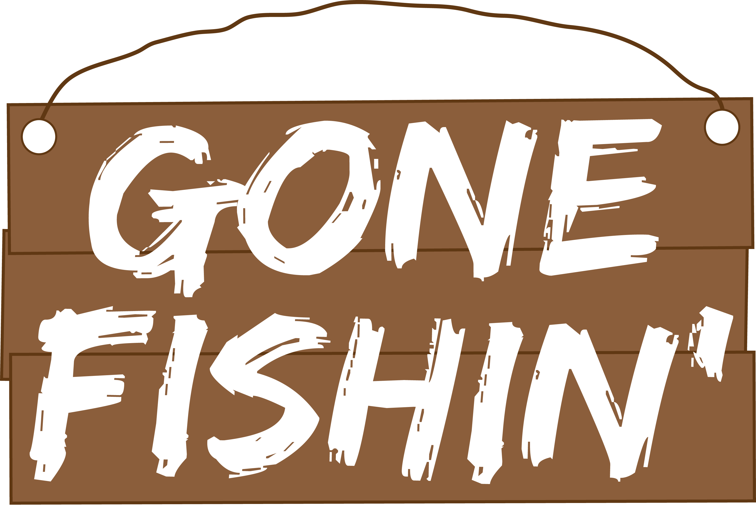 Gone Fishin' - Out With The Kids