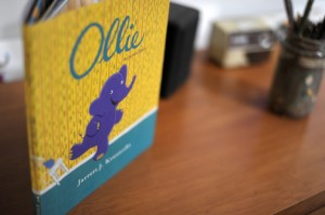 Kid's Book Review: Ollie the Purple Elephant