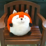 fox in chair