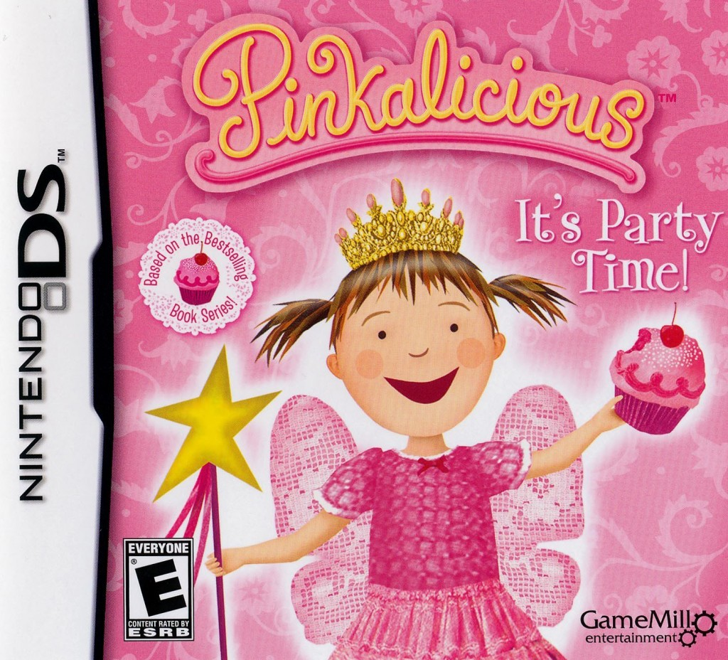 Nintendo Ds Game Review Pinkalicious Out With The Kids