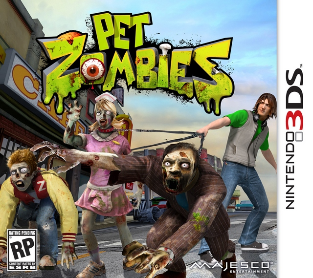 Nintendo 3DS Game Review: Pet Zombies