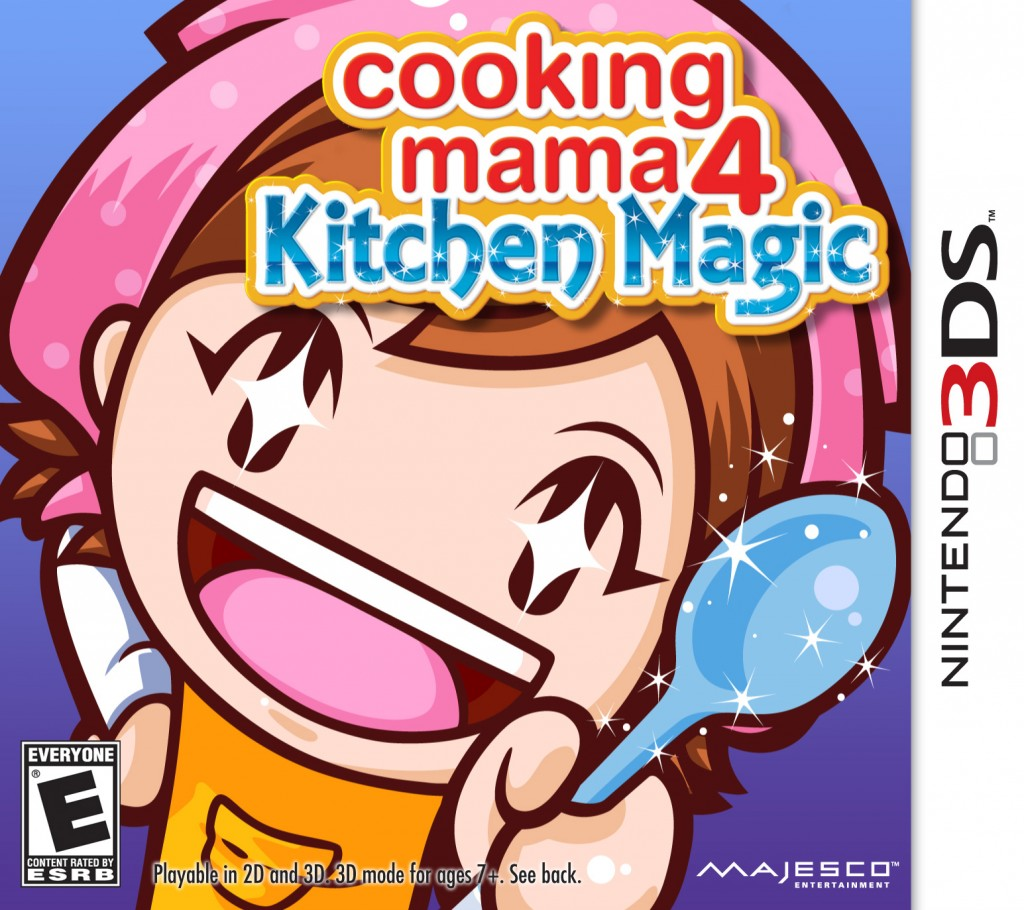 Nintendo 3DS Game Review: Cooking Mama 4 Kitchen Magic
