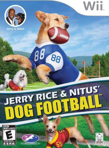 Nintendo Wii Game Review: Jerry Rice & Nitus' Dog Football