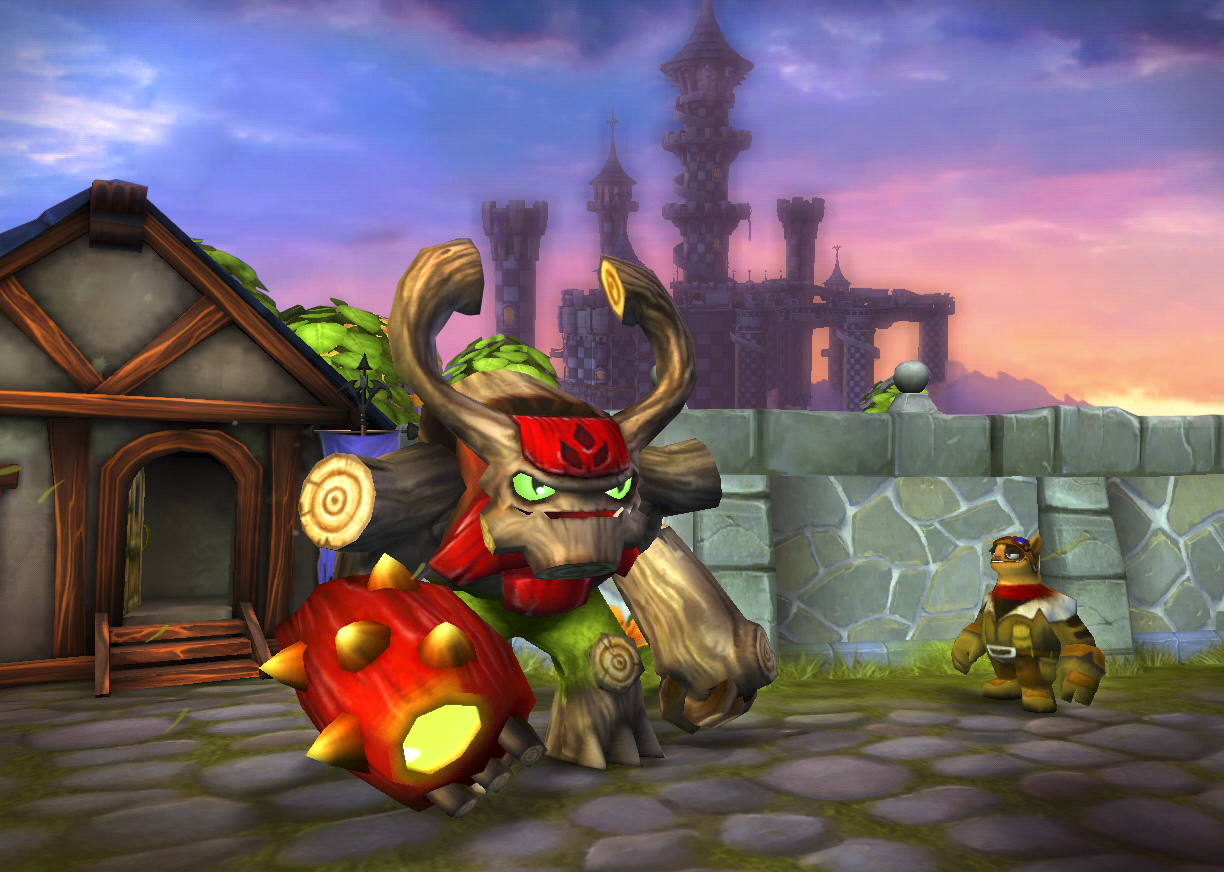Tree Rex Skylander http://owtk.com/2012/02/exclusive-sneak-peek-of-skylanders-giants/
