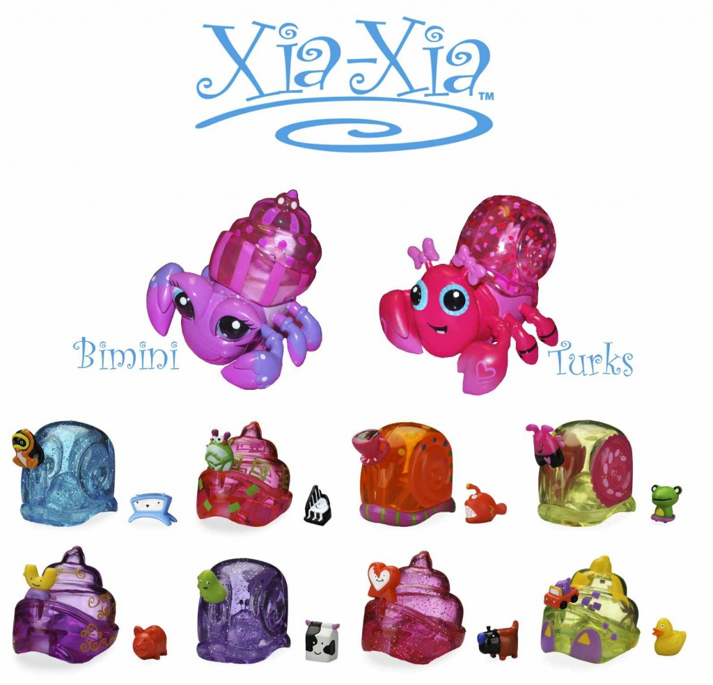 NYC Toy Fair 2012 Recap: Xia-Xia Hermit Crabs, Zhu Zhu Puppies & DaGeDar