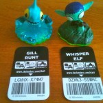 Whisper Elf and Gill Runt Skylanders Sidekicks