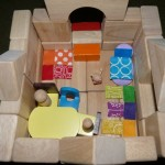 Family box with blocks