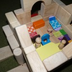family box with blocks and littlest pet