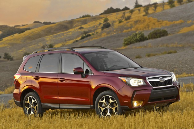 the big guy car guy report 2014 subaru forester limited out with the kids. Black Bedroom Furniture Sets. Home Design Ideas