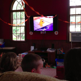 Our Heathcliff Retro Cartoon Party With #NetflixFamilies