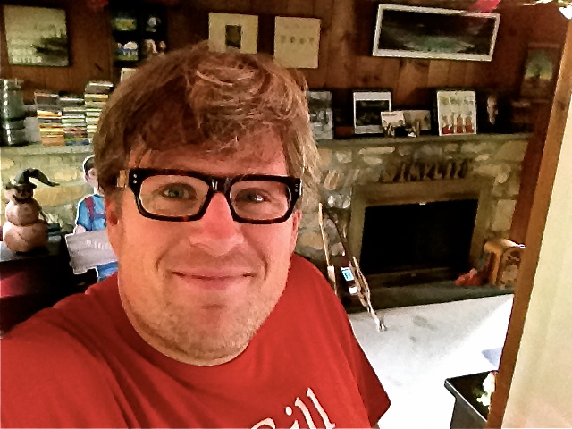 Lookmatic Jeff Bogle in his Music Room