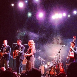 The Lone Bellow live at Union Transfer, Philadelphia, November 14 2013.