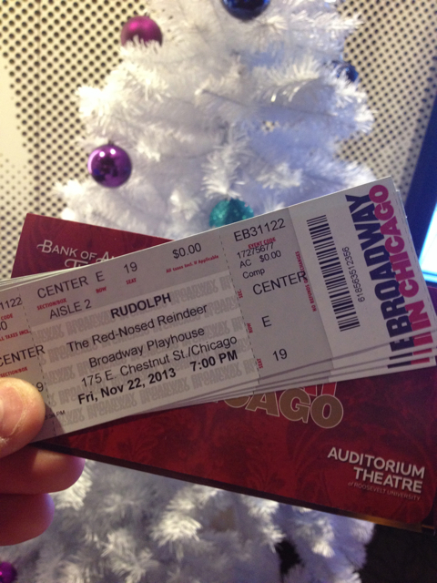 Rudolph Musical Chicago Tickets