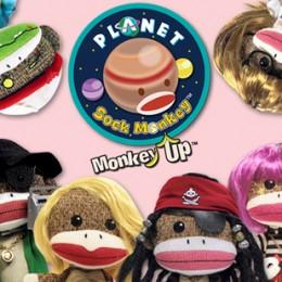 Giveaway: Planet Sock Monkey Plush Toy