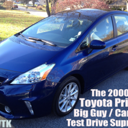 The Big Guy Car Guy Report — 2000 Miles in the 2013 Toyota Prius V Hybrid