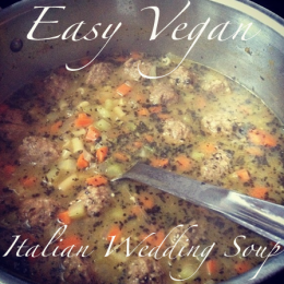 OWTK Recipe Box: Vegan Italian Wedding Soup