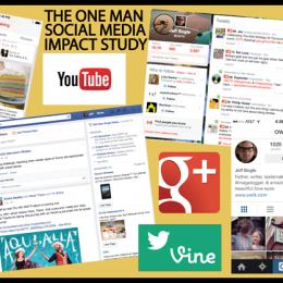 The One Man Social Media Impact Study