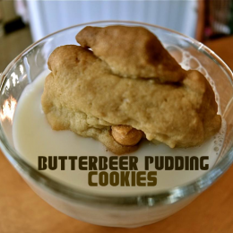 OWTK Recipe Box: Butterbeer Pudding Cookies