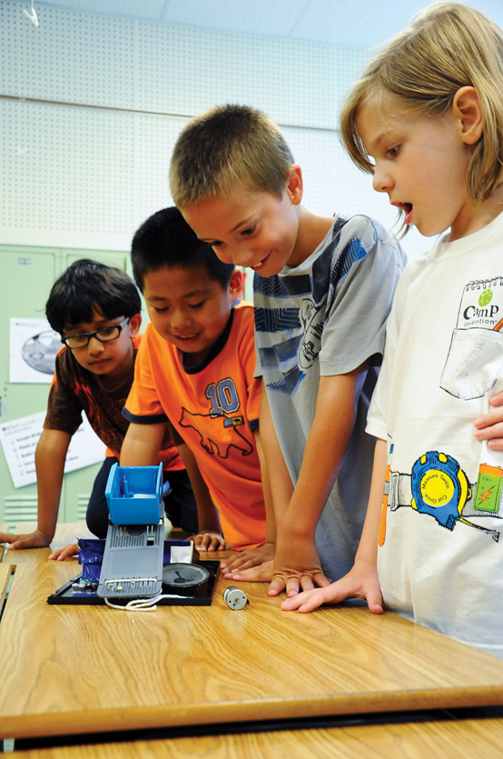 Camp Invention Project and Kids