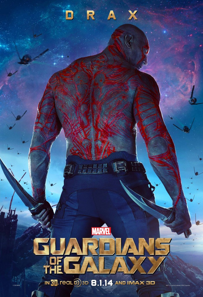 Marvel's GUARDIANS OF THE GALAXY Drax Poster Big Poster