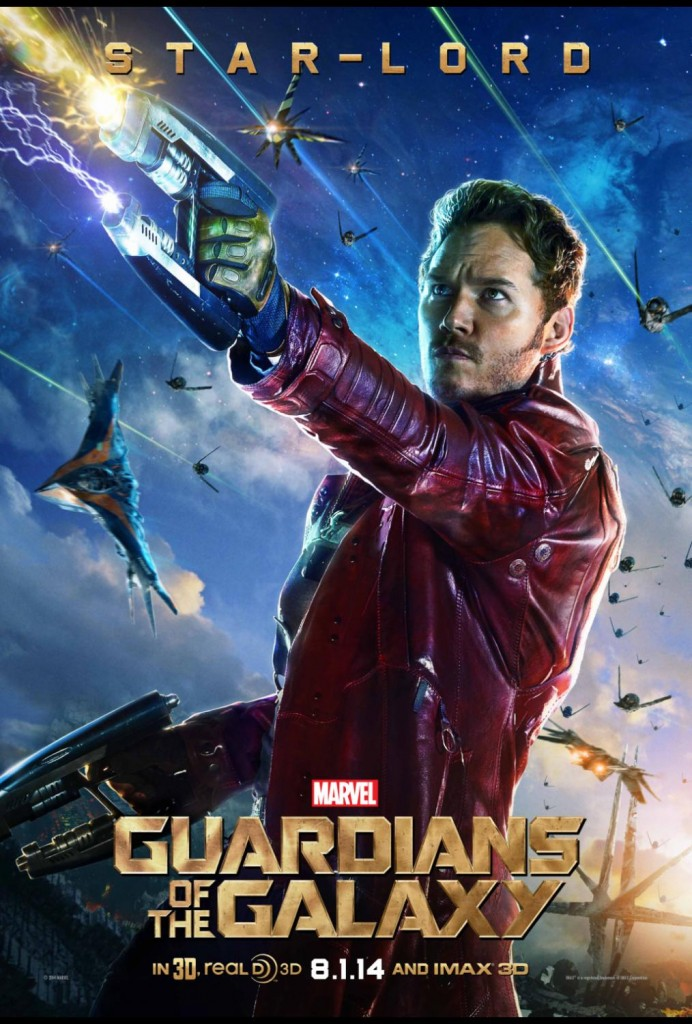 Marvel's GUARDIANS OF THE GALAXY Star-Lord Big Poster