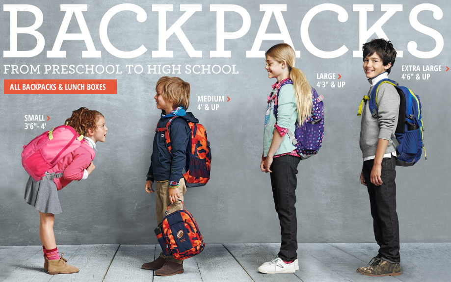 Lands End 2014 Back to School Sale Ad Image Header