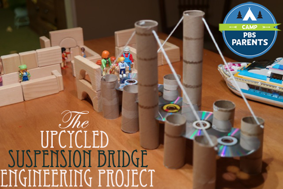 Suspension Bridge Engineering Project People on Bridge_PBS Parents