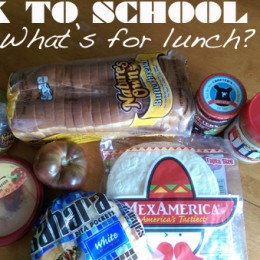 Back To School 2014: What's For Lunch?