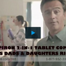 The Dell Inspiron 2-in-1 11 3000 Series Tablet Commercial Gets Dads and Daughters Right