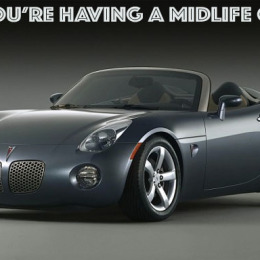 Big Guy Car Guy: The Pontiac Solstice And My First Mid-Life Crisis