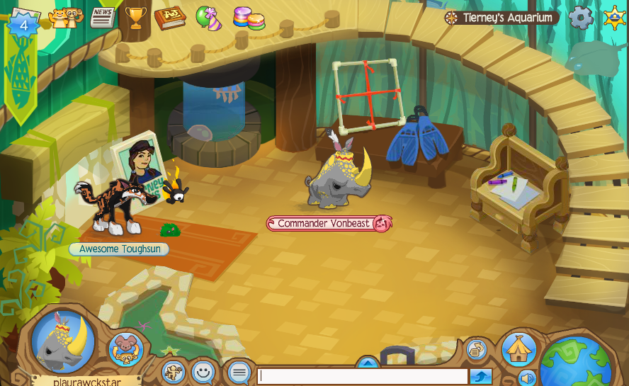 Animal Jam Review Aquarium