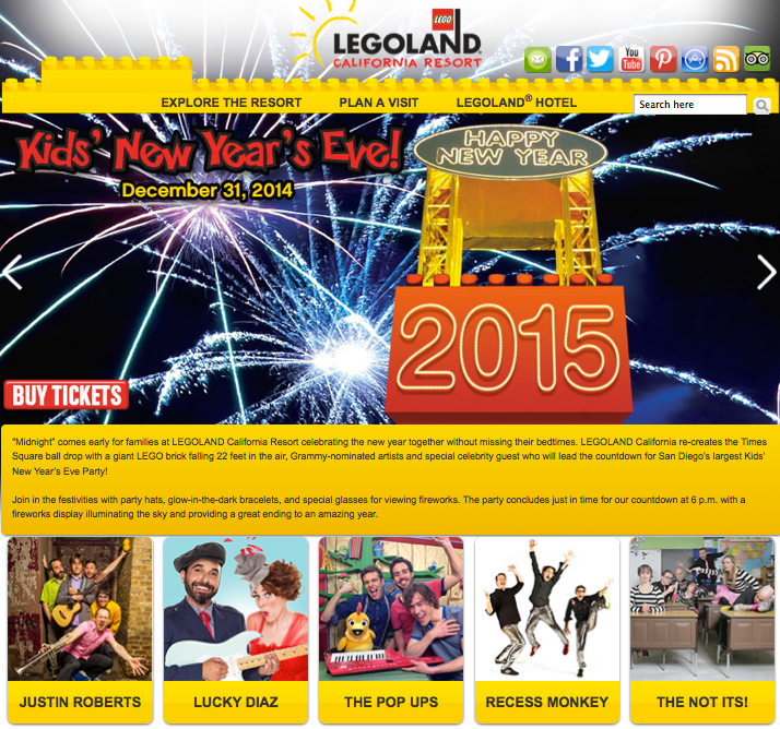 American Family Adventures: Kids' New Year's Eve at LEGOLAND California Review