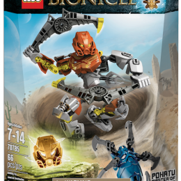 NEW LEGO BIONICLE JAN 2015 POHATU MASTER OF STONE