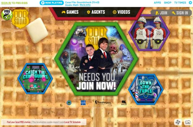 PBS Kids Sneak Peek at Odd Squad