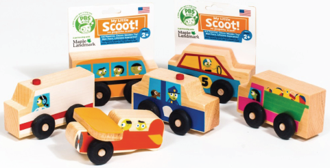 PBS Kids and Whole Foods Toy Line_Scoots