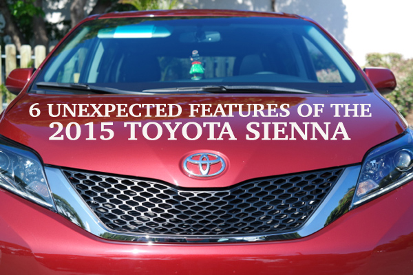 6 Unexpected Features of the 2015 Toyota Sienna