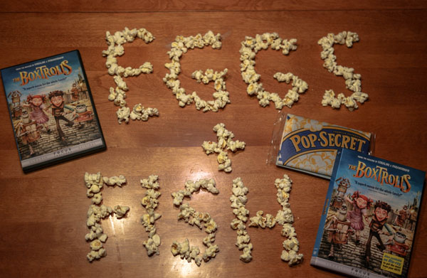 OWTK-The-BoxTrolls-and-Pop-Secret-Popcorn-Writing-Eggs-and-Fish