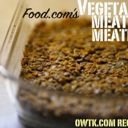 Recipe Box: Vegetarian Meatless Meatloaf