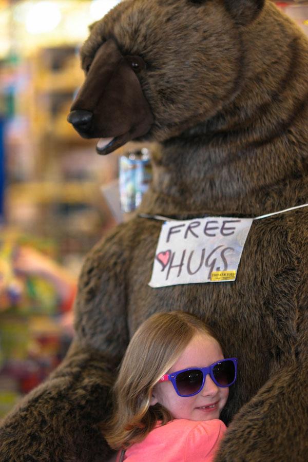 Free Hugs Bear Hug