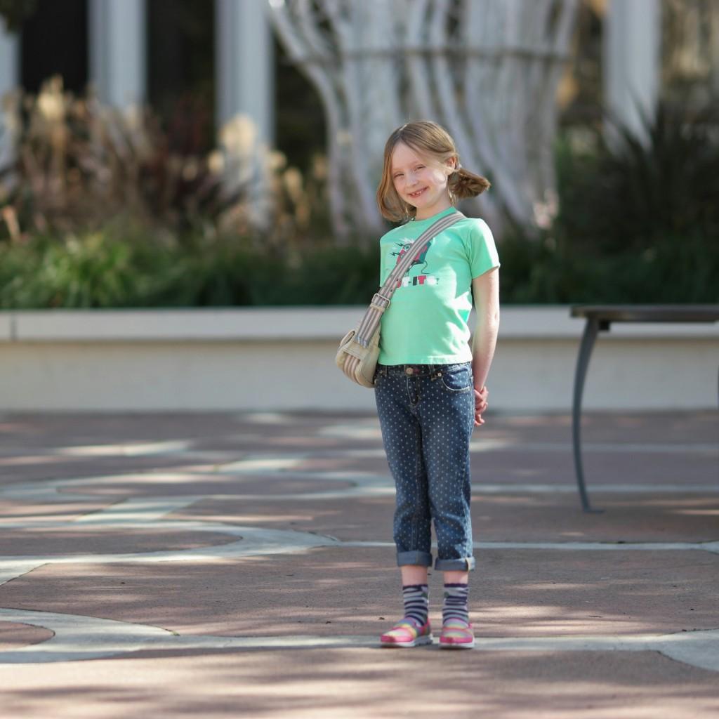 Photo of daughter in Palo Alto