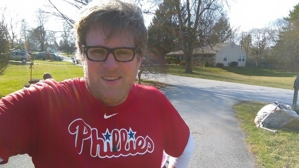 Jeff OWTK Phillies Nike Dri-Fit Running Shirt MLBFanatics