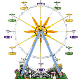 LEGO Creator Ferris Wheel_10247_Back_08