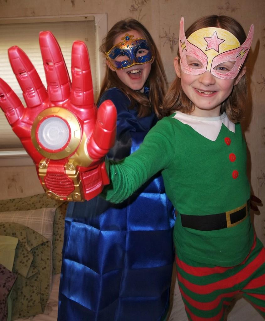 Nesquik superhero Avengers Pose