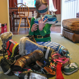 Of Blindfolds and Running Shoes