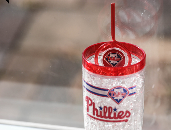 Phillies-cooler-glass-and-fun-straws-opening-day-2015-MLBFanatics