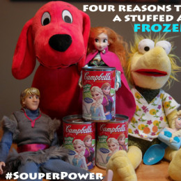 4 Reasons To Have A Stuffed Animal Frozen Soup Party